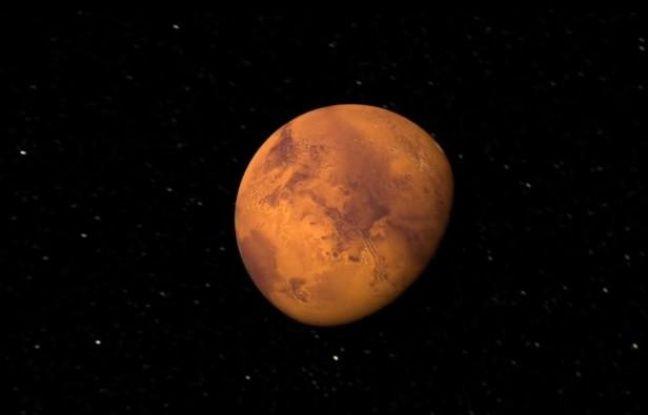 La planète Mars. Capture d'écran d'un reportage de Time mis en ligne en juin 2013.