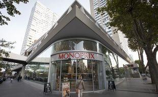 Un Monoprix à Paris. (Illustration)