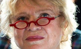 Eva Joly, candidate EELV à l'élection présidentielle de 2012, le 9 juin 2011.