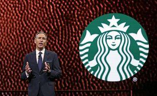 L'ex-patron de Starbucks Howard Schultz en 2017.