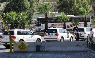 Les experts de l'ONU enquêtant en Syrie dans des sites où des attaques chimiques auraient été perpétrées, ont quitté dimanche leur hôtel pour une nouvelle mission, a constaté le photographe de l'AFP.