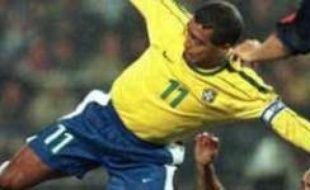 Le joueur brésilien Romario
