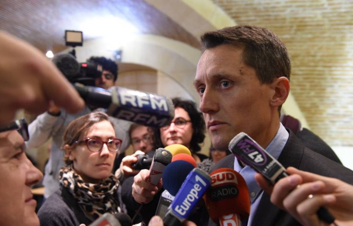 Le procureur de la République d'Agen, Pascal Prache, le 2 décembre 2015 à Agen. – MEHDI FEDOUACH / AFP
