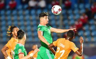 Bounedjah a raté un penalty.