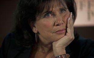 Anne Sinclair, le 23 janvier 2012 à Paris.