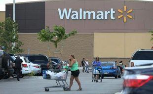Un magasin Walmart, le 18 août 2015 à Miami, en Floride