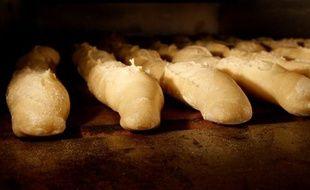Des baguettes dans une boulangerie à Paris