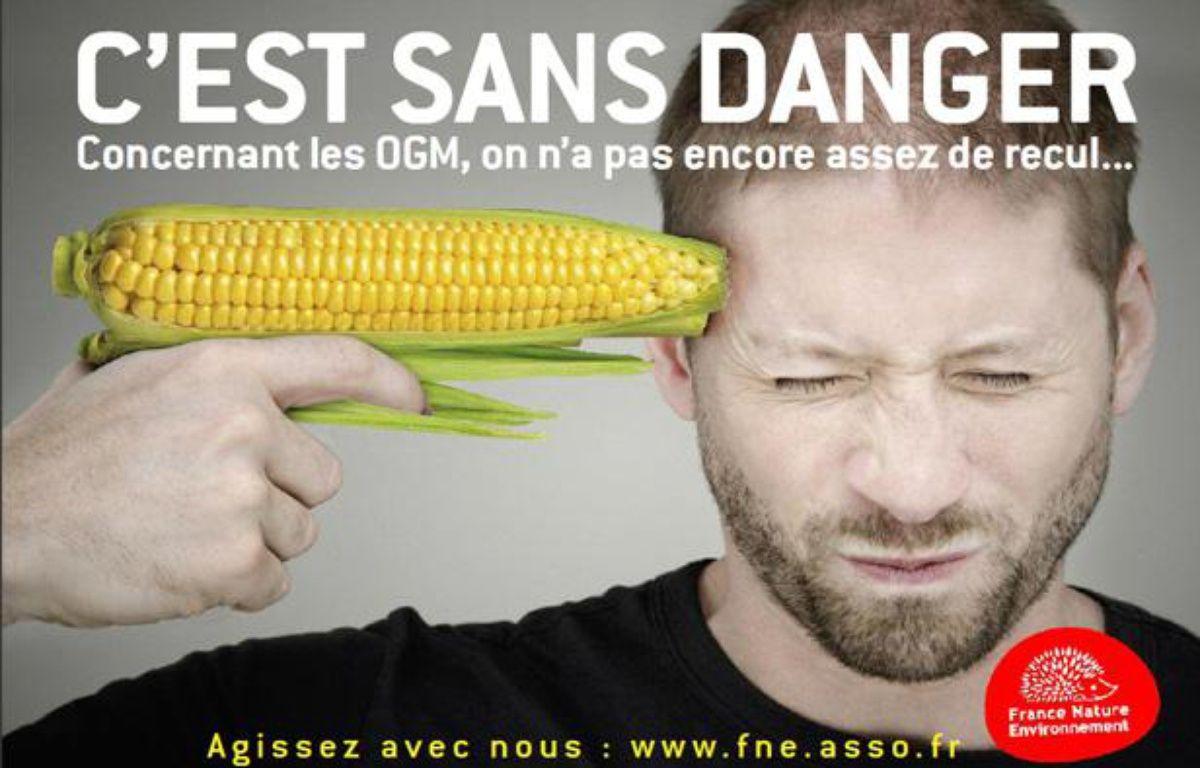 Un des six visuels de la campagne de France Nature Environnement, menée du 15 au 21 février 2011.  – France Nature Environnement