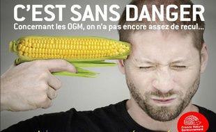 Un des six visuels de la campagne de France Nature Environnement, menée du 15 au 21 février 2011.
