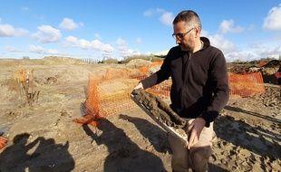 Une cité gauloise a été découverte lors de fouilles archéologiques à Allonnes, dans le Maine-et-Loire