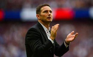 Frank Lampard a officié durant une saison sur le banc de Derby County en deuxième division anglaise.