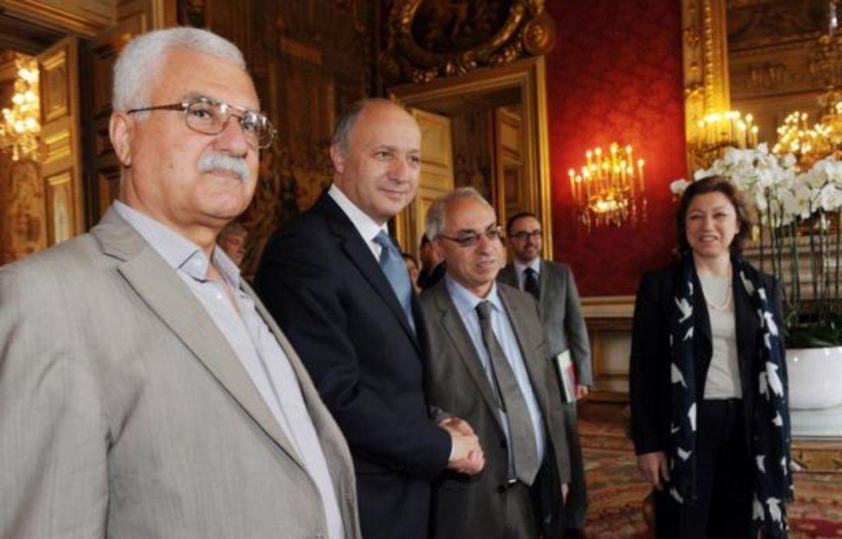 Le vétéran de l'opposition syrienne Georges Sabra, un ancien communiste, a été élu vendredi soir président du Conseil national syrien (CNS), principale composante de l'opposition, selon une journaliste de l'AFP. – Mehdi Fedouach afp.com