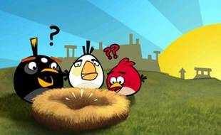 « Angry Birds », sur mobiles.