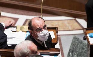 Jean Castex, le premier ministre, à l'Assemblée nationale.