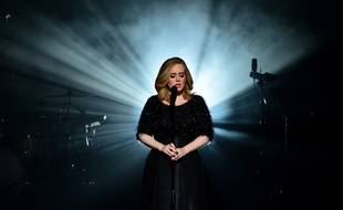Adele performs at the 17th NRJ Music Awards ceremony in Cannes,in the south of France. Cannes, FRANCE - 07/11/2015. ** Photos must not be used out of context.*/GHNASSIA_2311003/Credit:GHNASSIA/NMA2016/SIPA/1511080049