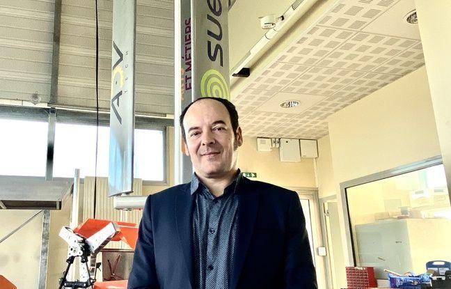 Arnaud Curutchet, fondateur de la start up ADV-Tech, qui produit des éoliennes urbaines.
