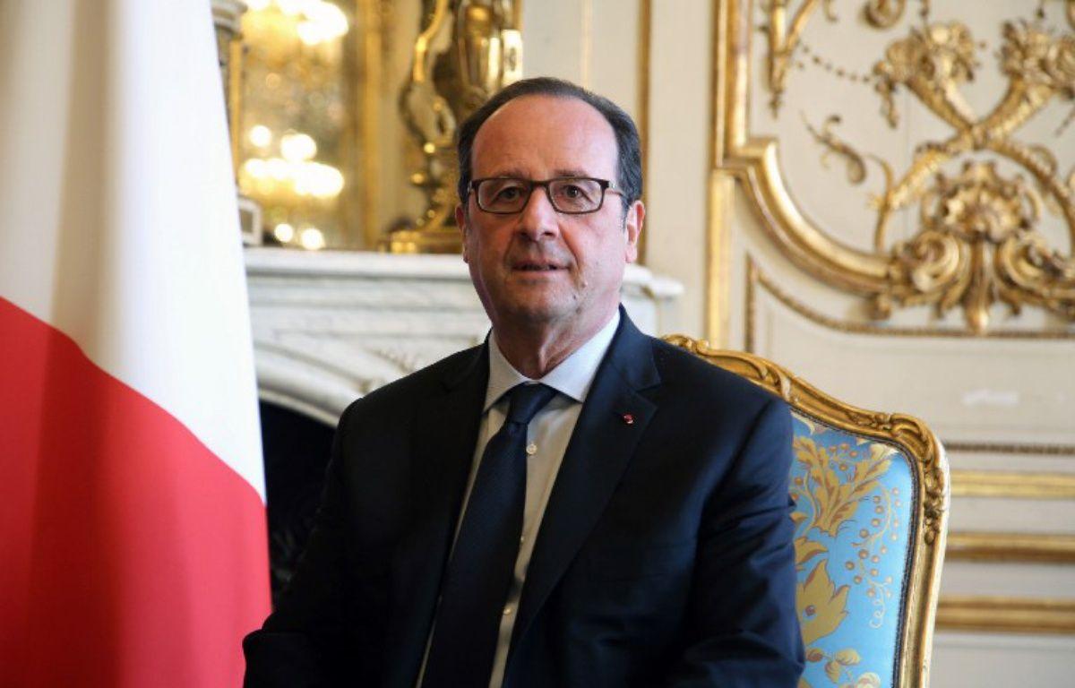 Le président François Hollande à l'Elysée le 28 novembre 2016 – THIBAULT CAMUS / POOL / AFP