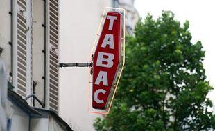 Le logo des bureaux de tabac est une carotte.