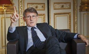 Vincent Peillon, ministre de l'Éducation nationale, à Paris le 30 août 2013.