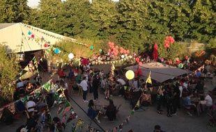 La terrasse d'été du Cabaret Sauvage