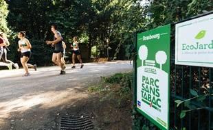 Tous les parcs strasbourgeois sont désormais non fumeurs.