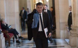 Le président du groupe PS à l'Assemblée Olivier Faure, le 5 décembre 2017.