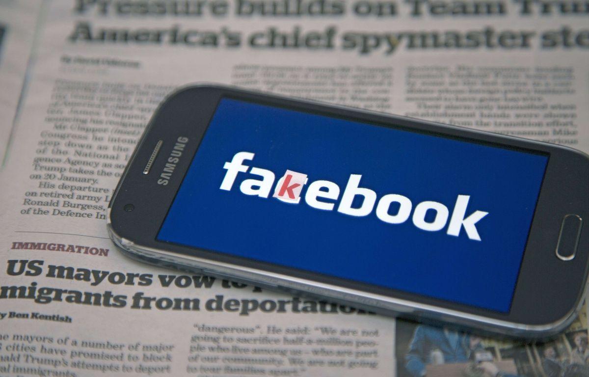 En partenariat avec huit médias, dont 20 Minutes, Facebook va lancer en France son dispositif pour lutter contre les « fake news ». – Jeff Blackler/Shutterst/SIPA