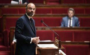 Edouard Philippe lors de son intervention à l'Assemblée, mardi.