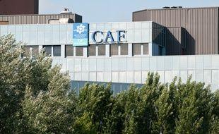 Bordeaux, mai 2012. - La Caisse d'allocations familiales de Gironde. - Photo : Sebastien Ortola