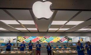 Nouvel Apple Store à Rio de Janeiro, au Brésil, le 16 février 2014