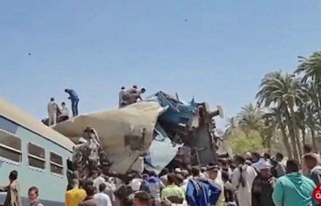 648x415 deux trains voyageurs entres collision mi journee sud egypte