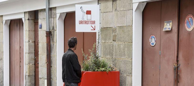 Les villes de Nantes et Paris ont déployés les pissotières fleuries