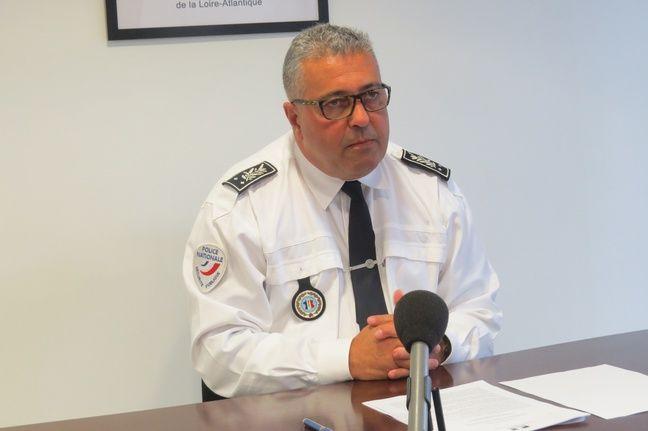 Benoit Desferet, nouveau patron de la police de Loire-Atlantique.