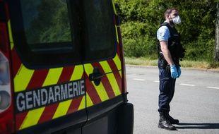 Les gendarmes ont découvert le corps de la victime dans sa maison. Illustration