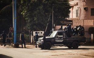 Des forces de sécurité maliennes à Bamako