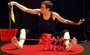 Sandrine Le Brun-Bonhomme joue «Rouge».