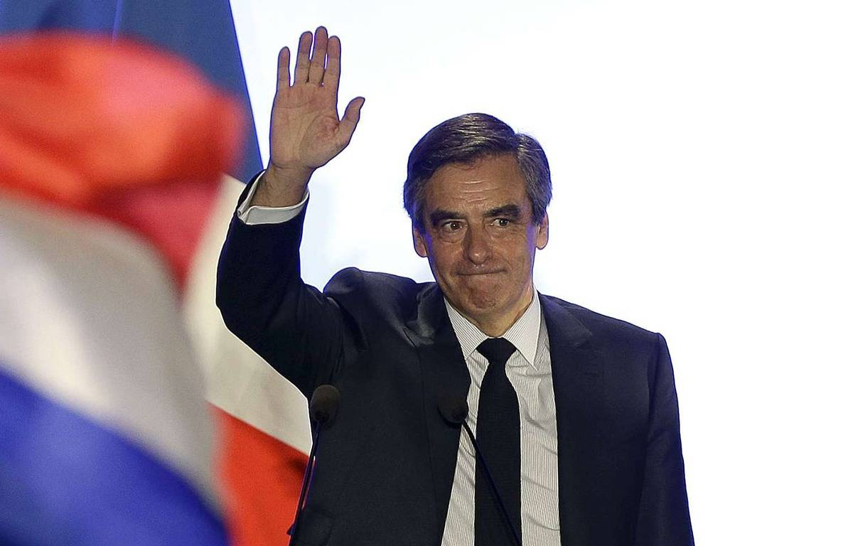 François Fillon en meeting à Nîmes le 2 mars 2017. – Claude Paris/AP/SIPA