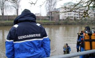 Photo d'illustration de plongeurs de la gendarmerie.