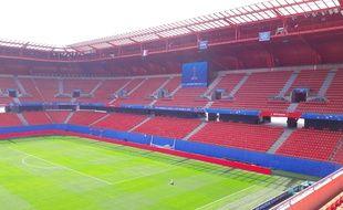 Le stade du Hainaut s'est habillé des couleurs du Mondial féminin