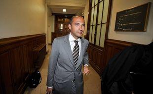 Thomas Fabius lors de sa comparution pour abus de confiance en 2011.