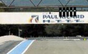 Sur le circuit Paul-Ricard, en 2006.