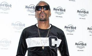 Le rappeur Snoop Dogg à Las Vegas
