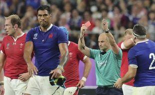 World Rugby va enquêter sur une photo montrant l'arbitre Jaco Peyper s'amuser du coup de coude de Vaahaminha lors de Galles-France, le 20 octobre 2019 en Coupe du monde.