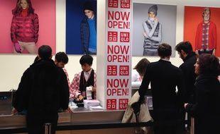 Strasbourg, le 13 novembre2014 - Soirée d'ouverture du magasin Uniqlo à Strasbourg.
