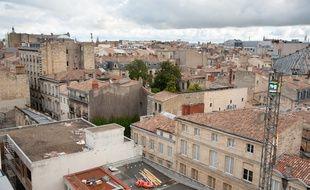 Bordeaux, 13 septembre 2012. Illustration immobilier a Bordeaux. - Photo : Sebastien Ortola