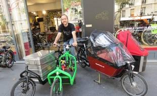 Customisables à l'infini, les vélos cargo se font de plus en plus une place à Paris. Les adeptes se retrouvent ce dimanche au bois de Vincennes.