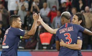 Le PSG s'est largement imposé contre Saint-Etienne (4-0), le 14 septembre, au Parc des Princes.