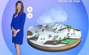 Chloé Nabédian présente les bulletins météo de France 2 depuis 2016