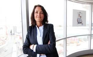 Nathalie Juston, directrice régionale de la SNCF en Bretagne.