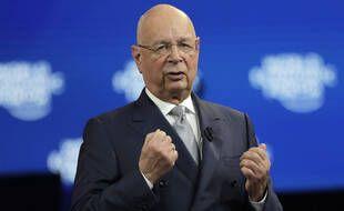 Klaus Schwab, fondateur du Forum économique mondial, à Davos, le 20 janvier 2020.